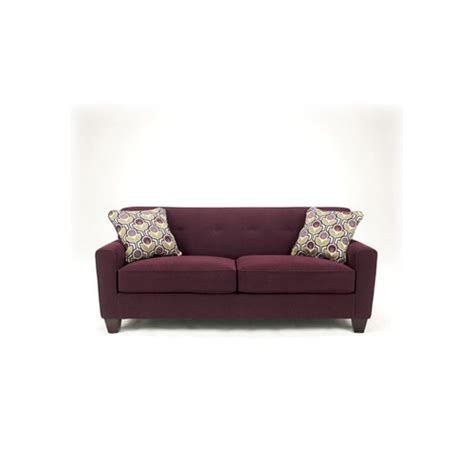 aubergine couch 1880038 ashley furniture signature design danielle
