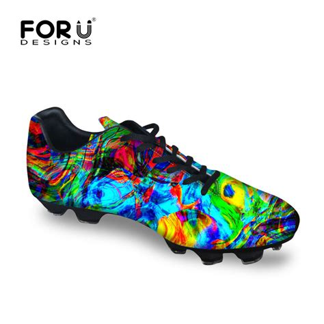 colorful boots colorful cool s cleats soccer shoes outdoor soccer