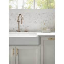 Single Handle Moen Kitchen Faucet kohler k 6227 c15 bv karbon vibrant brushed bronze one