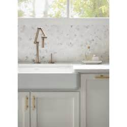 Kohler Kitchen Faucet Kohler K 6227 C15 Bv Karbon Vibrant Brushed Bronze One