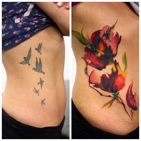 watercolor tattoos ontario when doing a cover up artists the challenge of