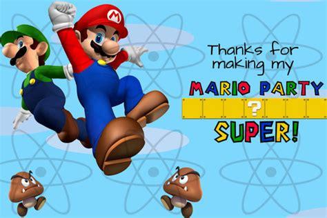 printable mario thank you cards printable thank you card super mario bros thank you by