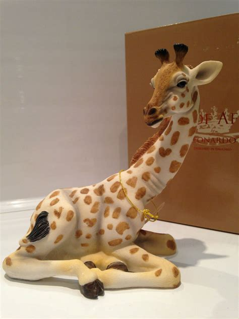 Where Can I Spend One For All Gift Card - sitting baby giraffe ornament figurine figure gift present ebay