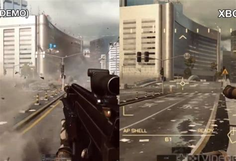 battlefield  graphics criticized  xbox  product