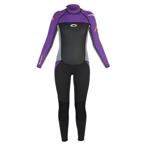 Harga Wetsuit Aqualung by Osprey Womens 3mm Origin Length Wetsuit Purple