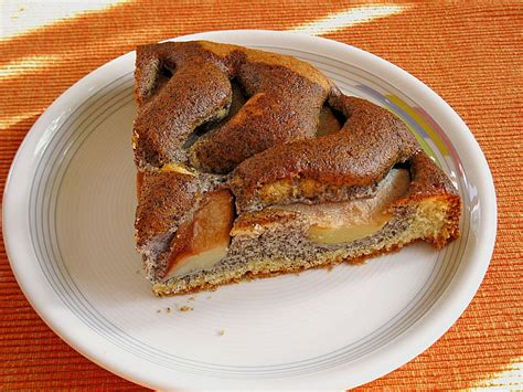 apfel mohn kuchen apfel mohn kuchen rezept mit bild lena1101