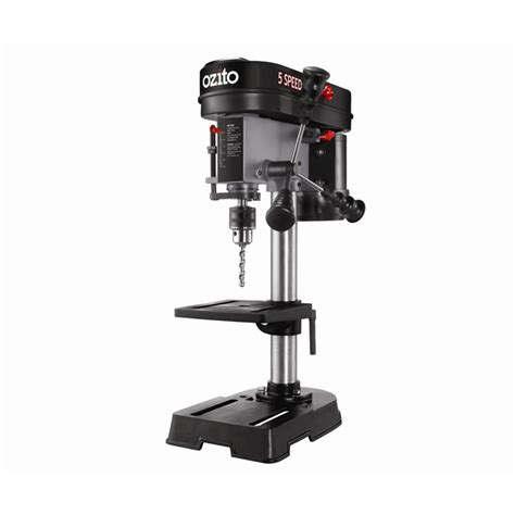 bench drill presses ozito 350w 5 speed bench drill press bunnings warehouse