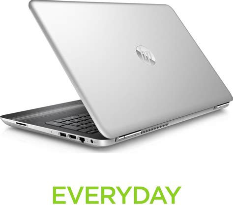 Notebook Hp15 Bw070ax Silver hp pavilion 15 au080na 15 6 quot laptop silver deals pc world