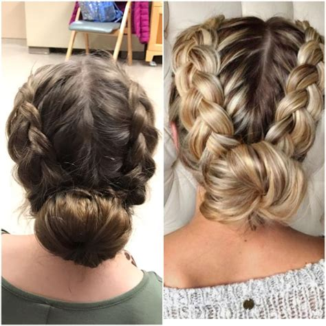 hairstyles with a hair donut 25 best ideas about donut bun on pinterest sock buns