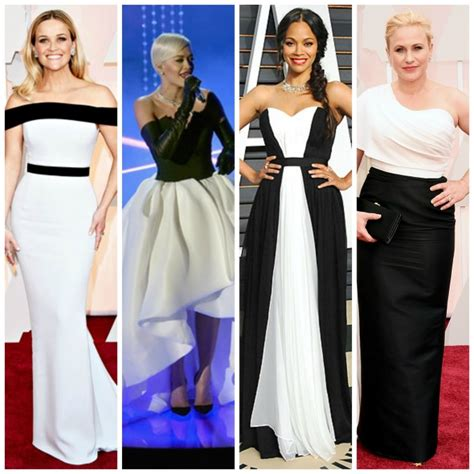 Oscar Trends To All White On The by 2015 Oscar Fashion Trends In The