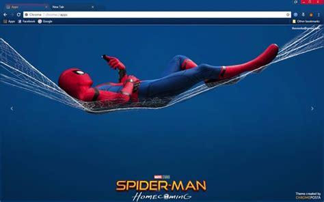 theme google chrome spiderman spider man homecoming movie 2017 chrome theme chromeposta