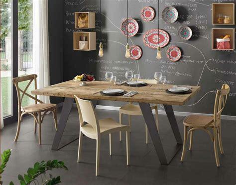 tavolo in legno naturale tavolo in legno di ontano trattato con cera naturale