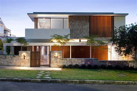 architectural design homes cove river house in sydney australia