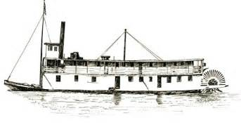 steam boat drawings how to draw steam boats
