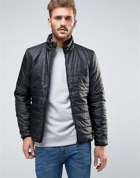 Quilted Clothing by Only Sons Lightweight Quilted Jacket In Black For Lyst