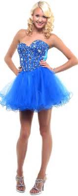 Royal blue cheap short corset prom gown dresses for prom i want this