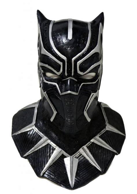 Masker Black Mask black panther mask deluxe mistermask nl