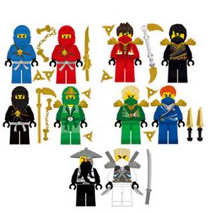 lego ninjago 10 ninjas removable wall stickers set with 8 jay ninjago wall decal removable reusable by wallhub on etsy
