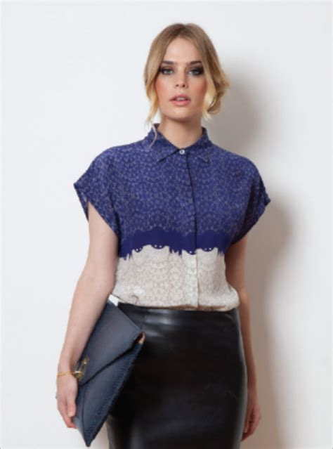 Mercy Top Blouse Hq blue empire mercy blouse by mercy delta tops shirts designers