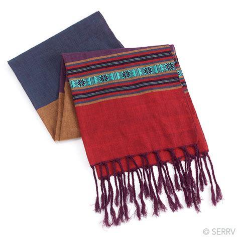 scarves color bar scarf