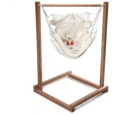 baby hammock and stand set inhabitots