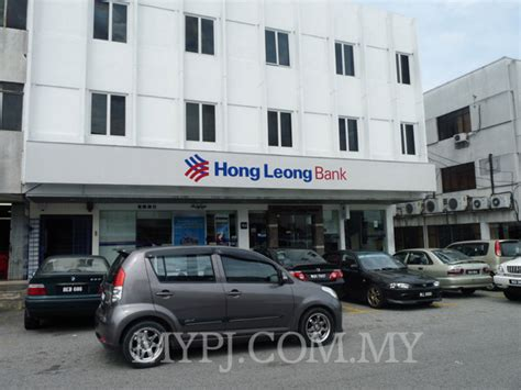 hong leong bank branch hong leong bank taman paramount branch section 20 my