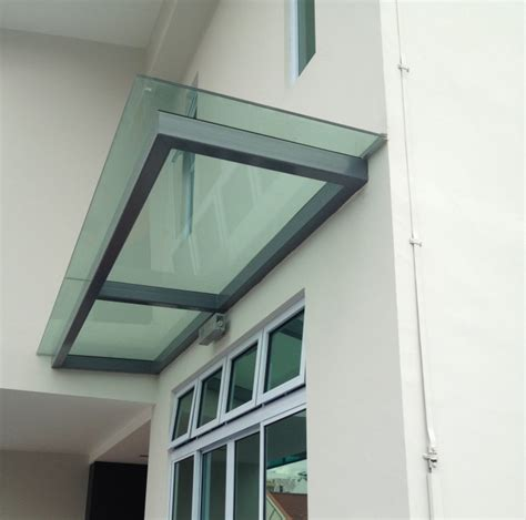 glass awnings canopies glass shelter elite deco