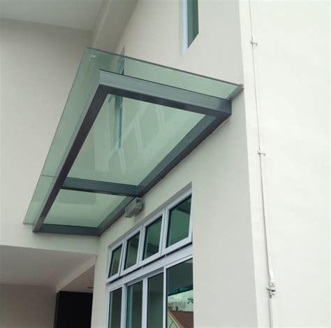 glass awning design glass shelter elite deco