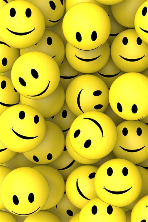 wallpaper emoticon iphone 3d smileys smileys smile iphone wallpaper iphone