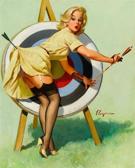 pin up girl art gil elvgren paintings art painting pin up girls art