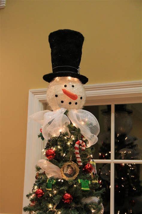 snowman tree topper too cute christmas tree s