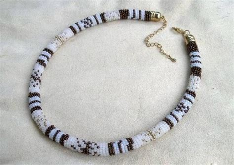 how to make beaded rope necklace diy beaded rope necklace fabdiy