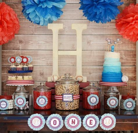 baseball themed decorating ideas 68 best images about baseball 1st birthday on