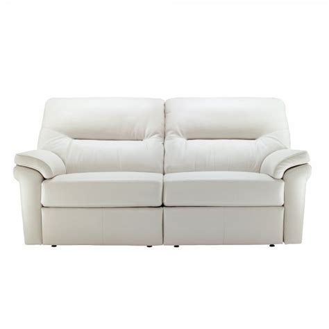 3 seater leather electric recliner sofa g plan washington leather 3 seater electric recliner sofa
