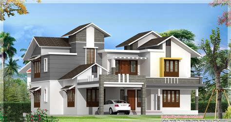 latest designs of houses modern kerala home design at 3075 sq ft new design