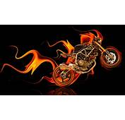 NCR M4 Side Super Fire Abstract Bike 2014  El Tony