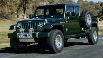 Does Jeep Offer 0 Financing Jeep Truck Possibly In The Works For 2016