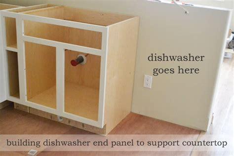 building a dishwasher dishwasher end panel ana white