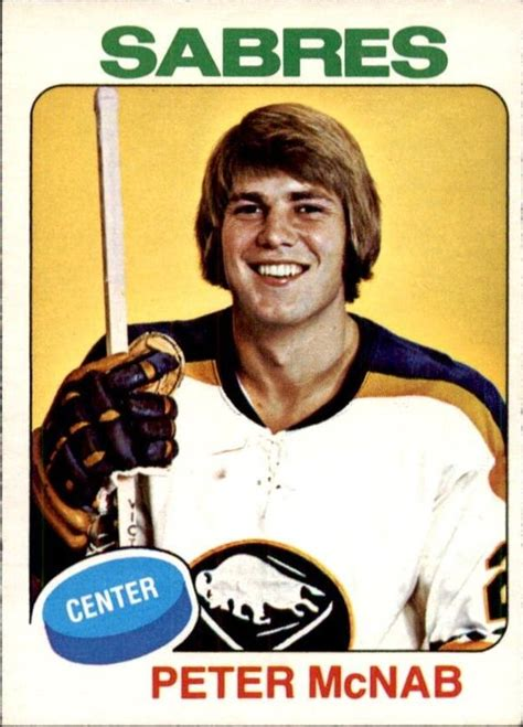 the o chee hockey card story books mcnab overlooked goal scorer for the boston bruins
