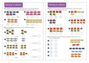 starting to subtract maths worksheets free early years