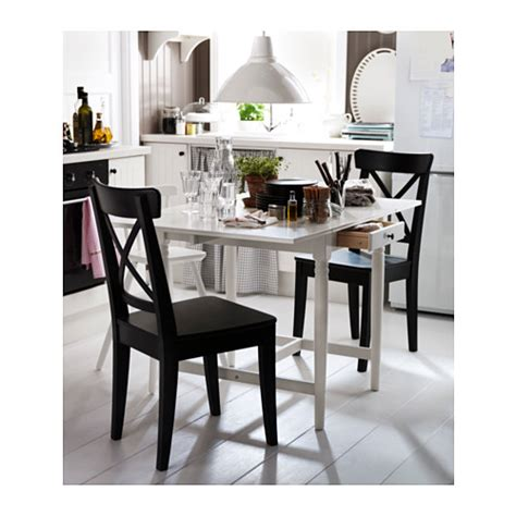 ikea ingatorp ingatorp drop leaf table white 59 88 117x78 cm ikea