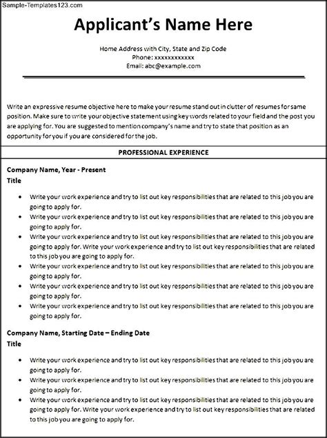 Resume Sle Format Ms Word shidduch resume sle 28 images resume format for bpo