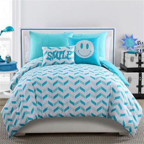 turquoise comforter set twin oltre 1000 idee su twin comforter su pinterest set di