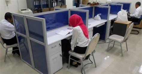 Meja Pelayanan Kantor meja kubikal meja sekat untuk furniture kantor bahan