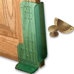 handle knob jigs mount hardware template