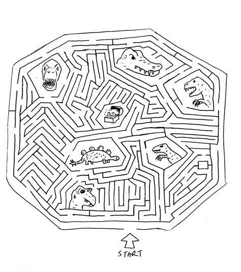 printable dinosaur maze image gallery dinosaur maze