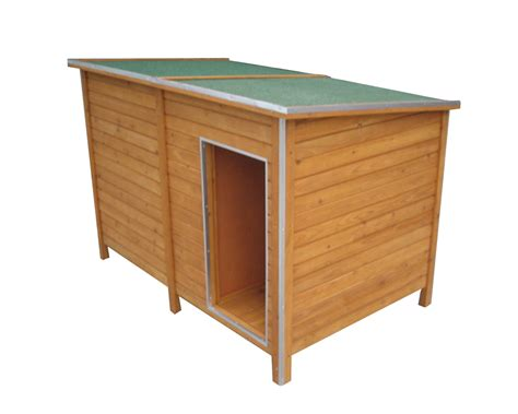 xxl dog house dog house wooden kennel isolated weatherprooof vestibule xxl 150x95x103 pet new ebay
