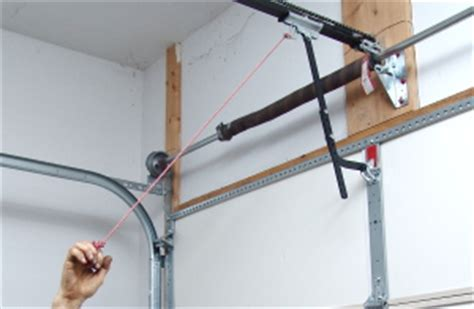 Garage Door Torsion Springs Vancouver How To Install A Single Torsion Assembly