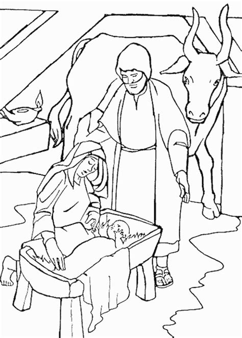 coloring page christmas bibel coloring pages 31