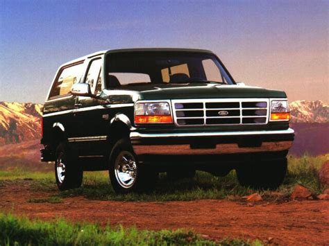 how to work on cars 1996 ford bronco spare parts catalogs 1996 ford bronco overview cars com